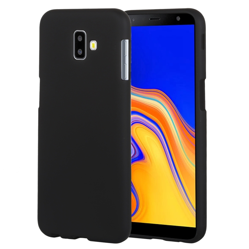 GOOSPERY SOFT FEELING Solid Color Dropproof TPU Protective Case for Samsung Galaxy J6 (2018)(Black) (GOOSPERY)