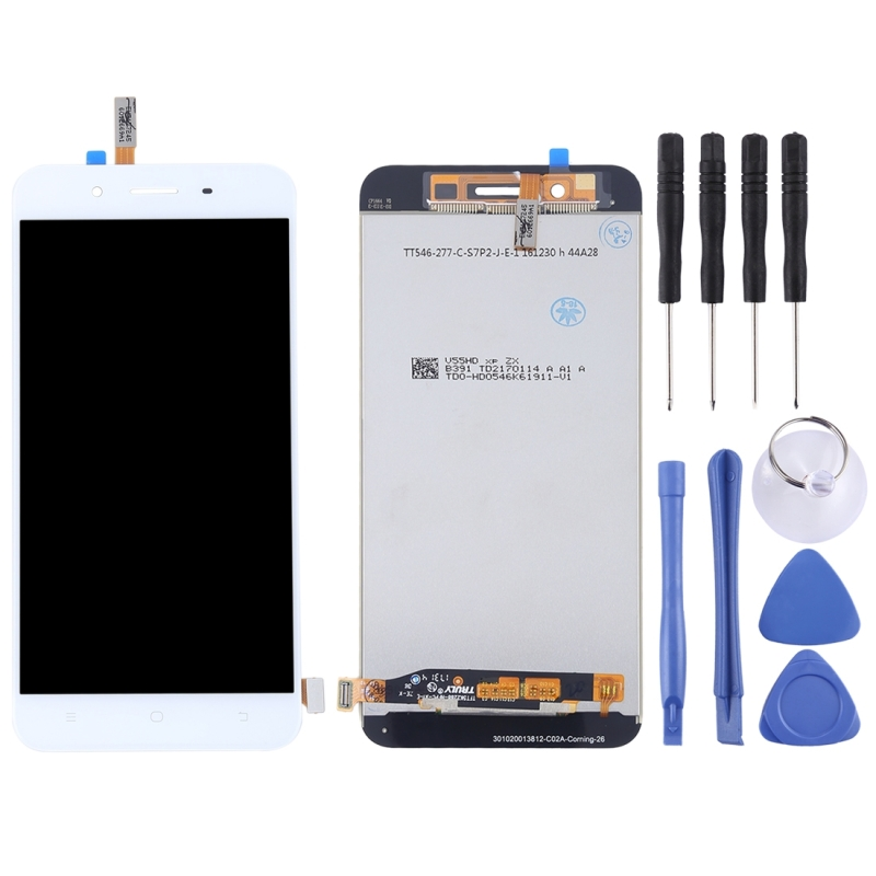 Original LCD Screen and Digitizer Full Assembly for Vivo Y66(White)
