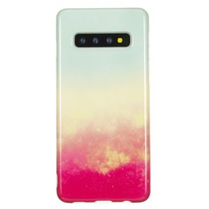 TPU Protective Case For Galaxy S10 Plus(Fire Cloud)