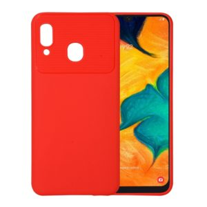 Beetle Series Shockproof TPU Case for Galaxy A30 (Red)