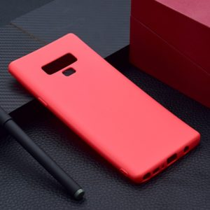 For Galaxy Note9 Candy Color TPU Case(Red)