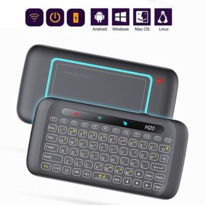 H20 2.4GHz Mini Smart Wireless Multi-Touch Touch Keyboard