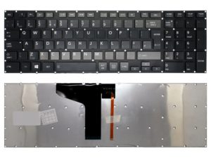 Toshiba Satellite P50 P50-a P55-B P55T-B Keyboard UK with backlight no frame (Κωδ.4021)
