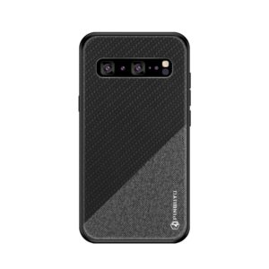 PINWUYO Honors Series Shockproof PC + TPU Protective Case for Galaxy S10 5G(Black) (PINWUYO)