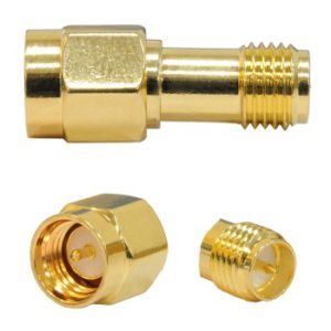 SMA male - RPSMA female connector