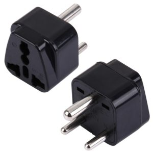 WD-10 Portable Universal Plug to (Small) South Africa Plug Adapter Power Socket Travel Converter