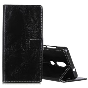 Retro Crazy Horse Texture Horizontal Flip Leather Case for Nokia 4.2, with Holder & Card Slots & Photo Frame(Black)