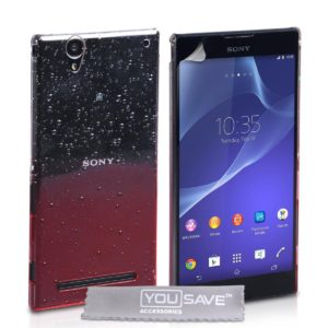 YouSave Accessories Θήκη για Sony Xperia T2 Ultra by YouSave κόκκινη και screen protector (200-101-005)