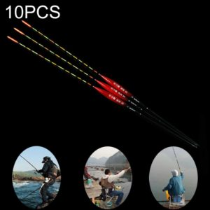 10PCS Fish Heart View 1# Fishing Float Nano Floater Bobber