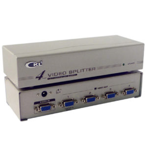 VIDEO SPLITTER 4 MONITORS CKL VS-92A