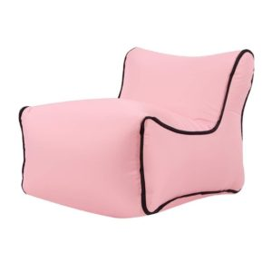 Waterproof Mini Inflatable Baby Seats SofaChair Furniture Bean Bag Seat Cushion(Pink seat)
