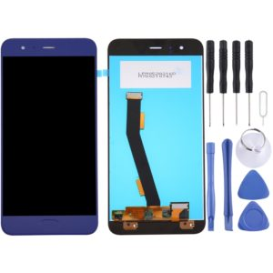 For Xiaomi Mi 6 LCD Screen and Digitizer Full Assembly, No Fingerprint Identification(Blue)