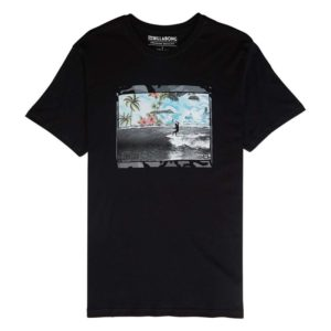 KONTOMANIKO T-SHIRT ΑΝΤΡΙΚΟ BILLABONG HIGH TEE BLACK