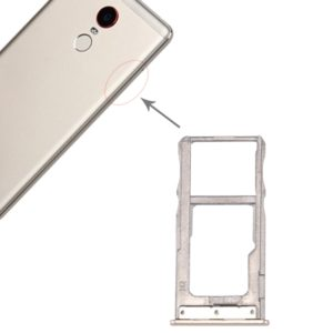 For ZTE Nubia Z11 Max SIM Card Tray(Gold)