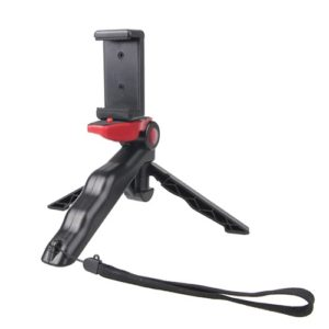 Portable Hand Grip / Mini Tripod Stand Steadicam Curve with Straight Clip for GoPro HERO 4 / 3 / 3+ / SJ4000 / SJ5000 / SJ6000 Sports DV / Digital Camera / iPhone , Galaxy and other Mobile Phone(Red)