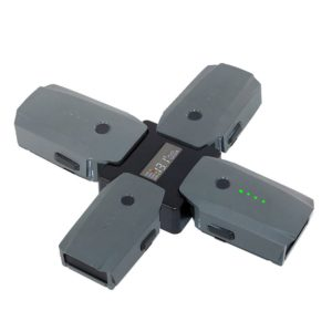 4in1 Intelligent Multi Battery Charger Screen Display Charging Hub for DJI Mavic Battery Manager