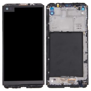 LCD Screen and Digitizer Full Assembly with Frame for LG V20 VS995 VS996 LS997 H910(Black)