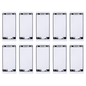 10 PCS for Sony Xperia X Compact / X Mini Front Housing Adhesive