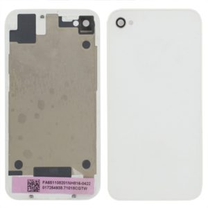 Original Glass Back Cover for iPhone 4S(White)