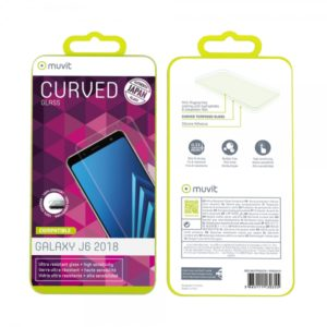 MUVIT JAPAN FULL FACE SAMSUNG J6 2018 tempered glass