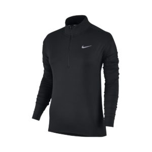 Nike Dri - Fit Element Long - Sleeve Half-Zip Μαυρο