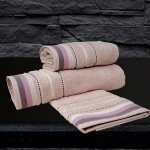 Πετσέτα Προσώπου Spring Sesilia Dusty Pink Cotton Sb Concept (50x90) 1Τεμ
