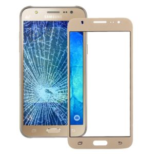 Front Screen Outer Glass Lens for Galaxy J5 / J500(Gold)