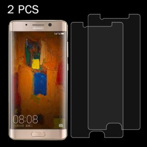 2 PCS Huawei Mate 9 Pro 0.26mm 9H Surface Hardness 2.5D Explosion-proof Tempered Glass Non-full Screen Film