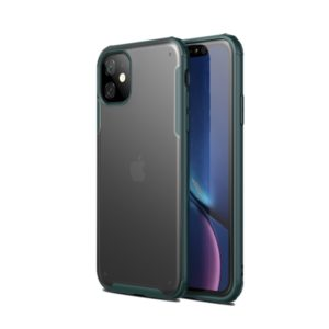 Scratchproof TPU + Acrylic Protective Case for iPhone 11(Dark Green)