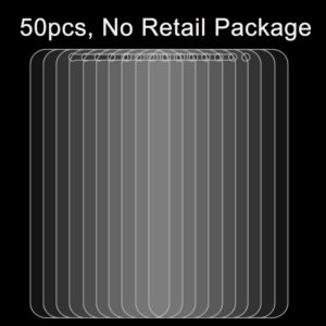 50 PCS for Huawei Enjoy 6s 0.26mm 9H Surface Hardness 2.5D Explosion-proof Tempered Glass Screen Film, No Retail Package