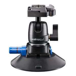 walimex pro Suction Cup Pod incl. Ball Head