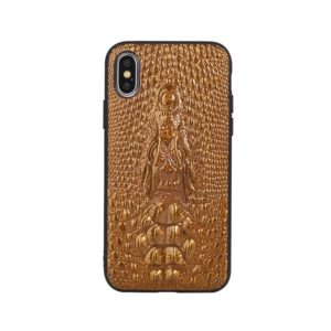 Leather Protective Case For iPhone SE 2020 & 8 & 7(Brown)