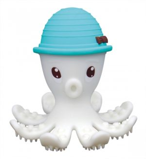 Baby To Love 3D Μασητικό Σιλικόνης Blue Octopus