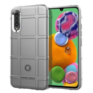 For Galaxy A90 5G Full Coverage Shockproof TPU Case(Grey)
