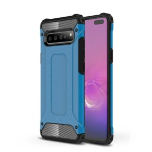 Magic Armor TPU + PC Combination Case for Galaxy S10 5G (Blue)