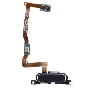 Home Button with Flex Cable for Galaxy Alpha / G850F(Black)