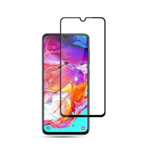 mocolo 0.33mm 9H 3D Full Glue Curved Full Screen Tempered Glass Film for Galaxy A70 (mocolo)