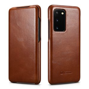 iCarer iCarer Vintage Series For Samsung Galaxy S20 - Brown (RS 992012)