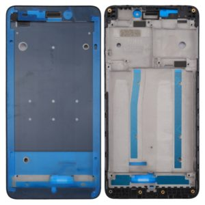 For Xiaomi Redmi 4A Front Housing LCD Frame Bezel(Black)