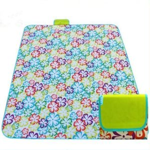 600D Oxford Cloth Outdoor Picnic Mat Picnic Cloth Waterproof Mats Spring Travel Beach Mat, Specifications (length * width): 200*200(Colorful Flower)
