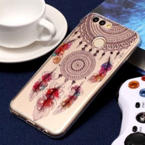 For Huawei nova 2 Embossment Feather Bells Pattern Soft TPU Protective Case