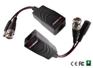 FOLKSAFE FS-HD4301VP VIDEO & POWER BALUN PASSIVE HD 1CH OVER UTP CAT 5 CABLE ΖΕΥΓΟΣ ΠΑΘΗΤΙΚΩΝ ΜΕΤΑΔΟΤΩΝ VIDEO FOLK SAFE FSHD4301VP