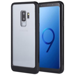 GOOSPERY New Bumper X for Galaxy S9+ PC + TPU Shockproof Hard Protective Back Case (Black) (GOOSPERY)