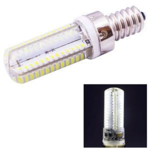 E14 4W 240-260LM Corn Light Bulb, 104 LED SMD 3014, White Light, AC 220V