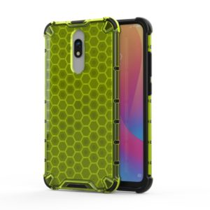 For Redmi 8 Shockproof Honeycomb PC + TPU Case(Green)