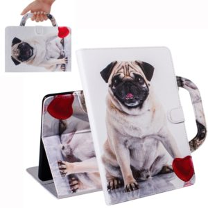 Dog Pattern Horizontal Flip Leather Case for Galaxy Tab A 10.1 (2019) T510 / T515, with Holder & Card Slot & Wallet
