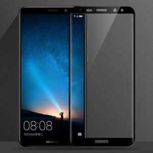 MOFi for Huawei Mate 10 Lite 0.3mm 9H Surface Hardness 3D Curved Edge Anti-scratch HD Full Coverage Tempered Glass Screen Protector(Black) (MOFI)