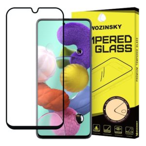 Wozinsky Tempered Glass Samsung Galaxy A71 Wozinsky Full Coveraged with Soft Frame-Black