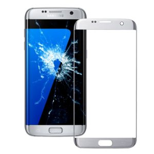 Front Screen Outer Glass Lens for Galaxy S7 Edge / G935(Silver)