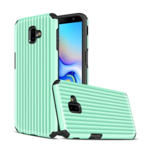Travel Box Shape TPU + PC Protective Case for Galaxy J6 Plus(Mint Green)
